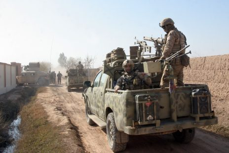 Büyük Oyun, askeri üsler ve Afganistan