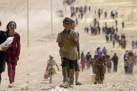 Yezidler diyarı Suriye, Hüseyinleri katlediyor